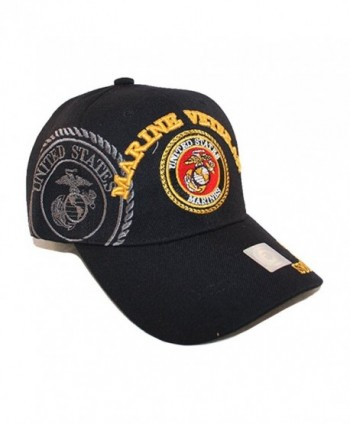 USMC Black Marine Veteran Gold