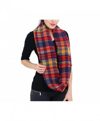 Infinity Blanket Tartan SUY Yellow in Fashion Scarves