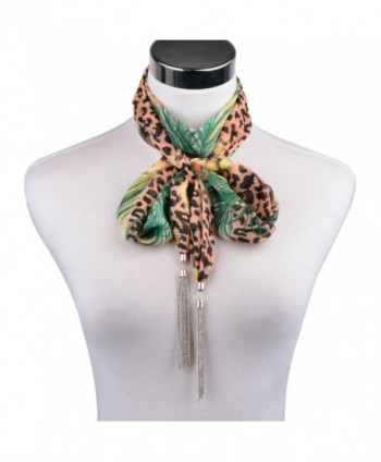 LERDU Necklace Bohemian Accessories 18 green