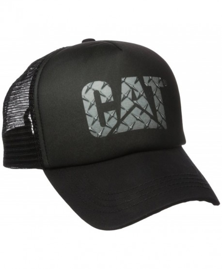Caterpillar Men's Custom Logo Cap - Diamond Plate - CD17YK0NAKY