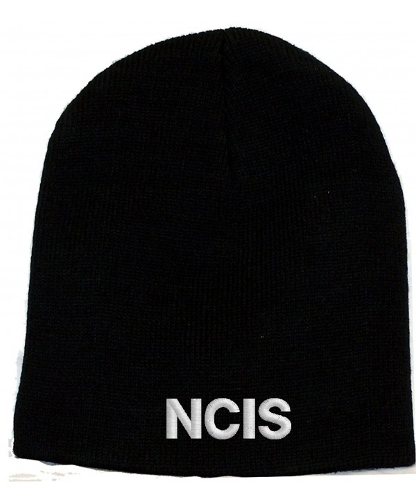NCIS Logo Embroidered Skull Cap - Black - CI118W0DG35