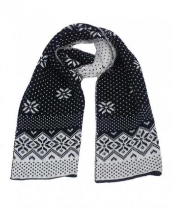 Elaco Christmas Snowflake Scarf Winter in Fashion Scarves