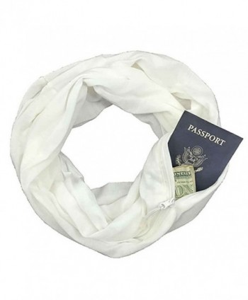 Pocketed Scarf - Bliss White - C5186Y4WD6K