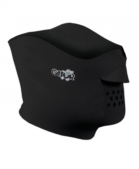 Gator Sports Fleece Lined Face Protector - Black - CU116FTJQWZ