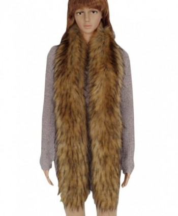 VamJump Women Winter Raccoon Collar