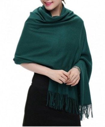 QBSM Womens Cashmere Pashmina Valentines in Fashion Scarves