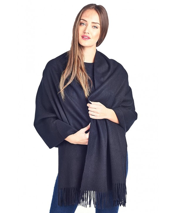 High Style Lambswool Oversized SolidBlack - Solid Black - C6126Y3S79J