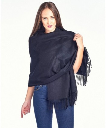 High Style Lambswool Oversized SolidBlack