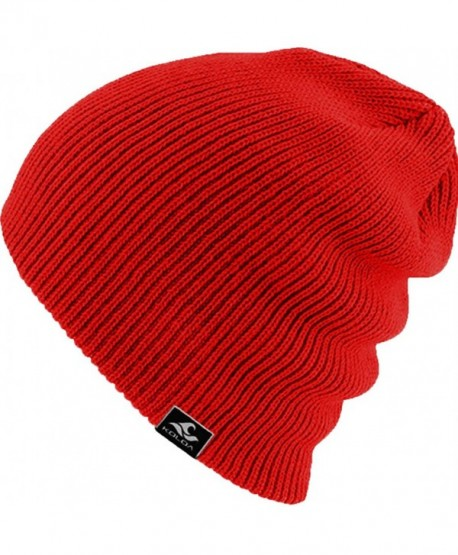 Koloa Surf Co. Original Soft & Cozy Beanies - Red - CC12J9DD6HJ