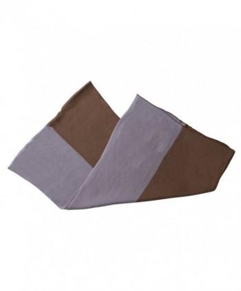 Color Block Scarf Purple Mauve