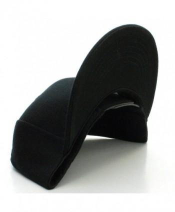 Plain Visor Blank Snapback Adjustable in Men's Baseball Caps