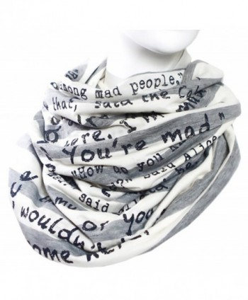 Alice in Wonderland Book Scarf - CO11U1QDYML