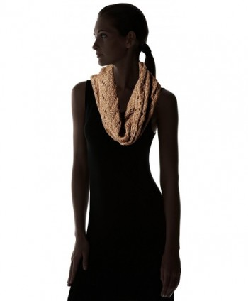 Womens Cable Knit Single Taupe in Cold Weather Scarves & Wraps