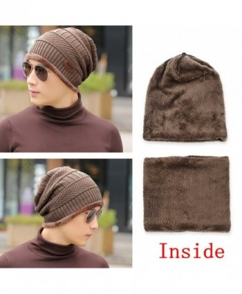 Unisex Slouchy Knitted Warmers Gaiters in Women's Cold Weather Neck Gaiters