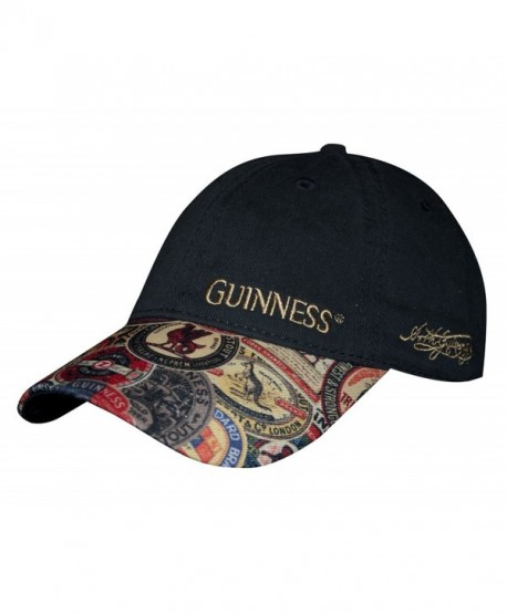 Guinness Washed Vintage Label Baseball Cap - CC12O0A1SPM