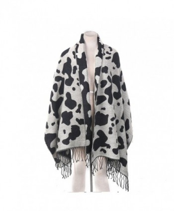 Yacun Womens Leopard Pashmina Infinity in Cold Weather Scarves & Wraps