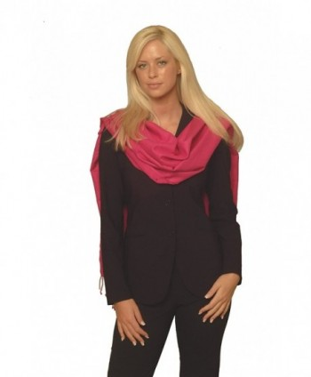 Cashmere Pashmina Group: Solid Pashmina Shawl- Scarf- Wrap & Stole(Regular size) (Fuchsia) - CP1117UOQ3B