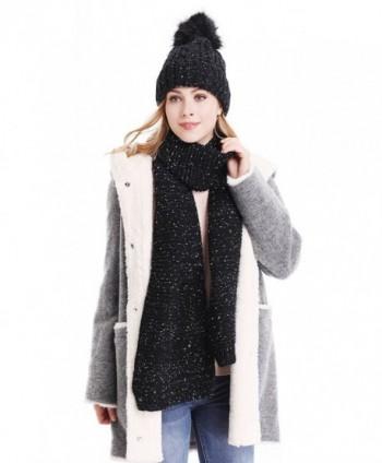 Bienvenu Knitted Fleece Lining Winter in Fashion Scarves