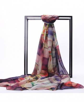 MedeShe Printed Lightweight 70cm%C3%97200cm Tropical in Fashion Scarves