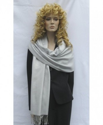 Cashmere Pashmina Group Solid Regular in Wraps & Pashminas