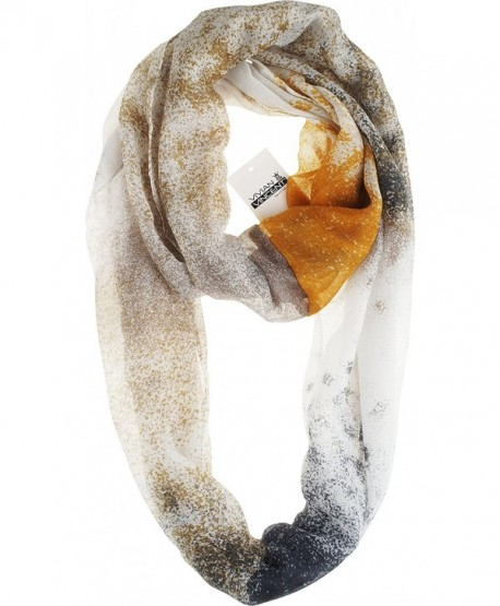 Vivian & Vincent Soft Light Elegant Sheer Infinity Scarf - C4 - C7186ZIC688