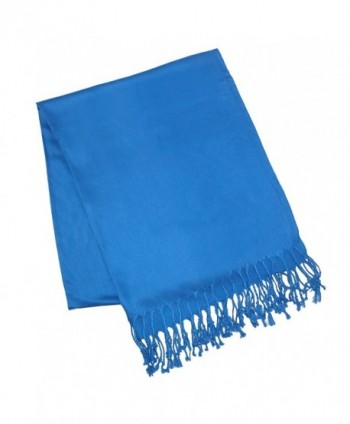 Solid Color Pashmina Scarf Royal