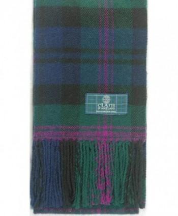 Lambswool Scottish Baird Modern Tartan