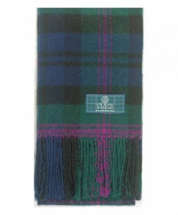 Lambswool Scottish Baird Modern Tartan in Cold Weather Scarves & Wraps