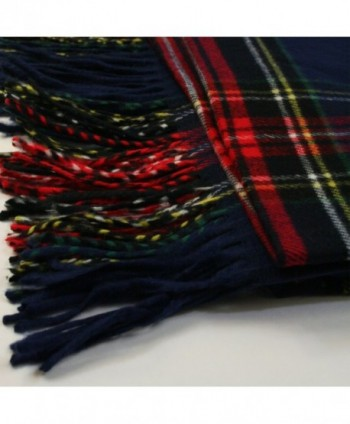 APPARELISM Scottish Oversized Cashmere Blanket in Cold Weather Scarves & Wraps