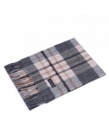 Saferin Women Cashmere Plaid F005 Grey