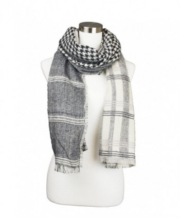 Womens Hounds tooth Checkered Design Oblong
