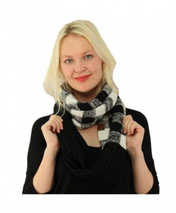 Buffalo Plaid Chunky Pullover Infinity in Fashion Scarves