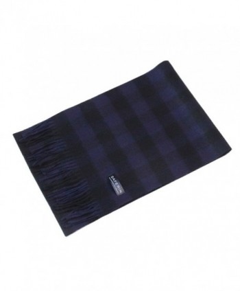 Saferin Women Cashmere Plaid HYX Purple in Wraps & Pashminas