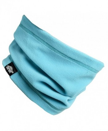 Turtle Fur - Single-Layer Lightweight Micro Fur Fleece Neck Warmer - Teal Spin - C412M8ANLFB