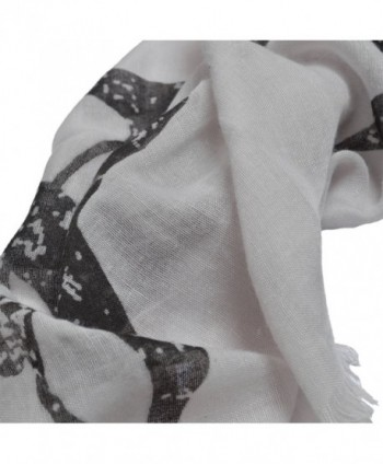 Unique Sharks Animal Print Frayed in Fashion Scarves