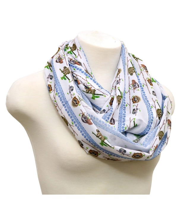 40% OFF Handmade Sloth scarf loop scarf Christmas gift birthday gift for her - CU12B57VK3T