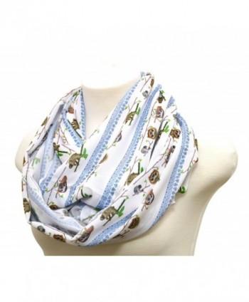 Handmade Sloth scarf Christmas birthday in Fashion Scarves