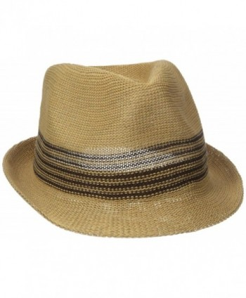 Dockers Men's Fedora With Kit-In Band - Natural - C312I1TC29P