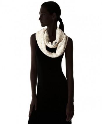 Womens Textured Diamond Eternity Vanilla in Fashion Scarves