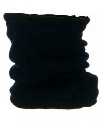Black Military Cold Weather Polar Fleece Neck Gaiter Neck Warmer - CX1148TF4YD