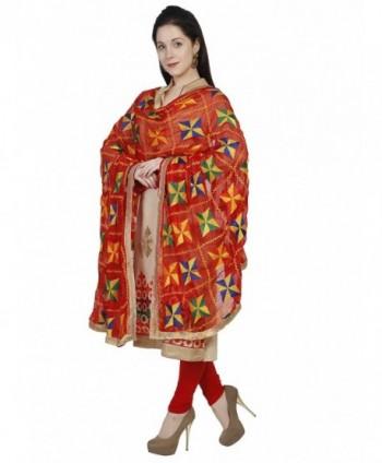 Dupatta Bazaar Phulkari Embroidery Chiffon