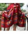 Paisley Jacquard Woven Pashmina Shawl in Wraps & Pashminas