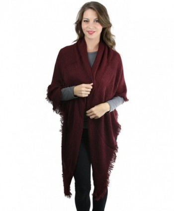 ToBeInStyle Womens Weave Square Scarf in Cold Weather Scarves & Wraps