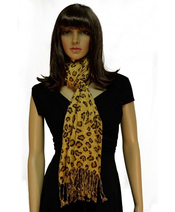 Pashmina Scarves Women Scarf Animal - Brown-coffee - CC121S2MGVB