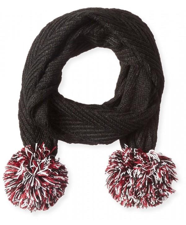Keds Women's Knit Pom Scarf - Black - CK11A4DU9VT