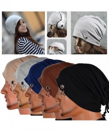 ... Chunshop Multifunction Lacing Beanie Hip Hop in Men s Skullies   Beanies 2da7369d316