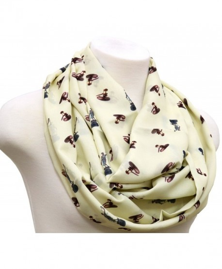 Lawyer Infinity Scarf gift for attorney Birthday Gift for Judge anniversary gift for paralegal Ivory - C217YTA7TCL