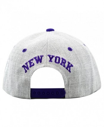 HAT DEPOT 1300DHGny Designed Snapback in Men's Baseball Caps