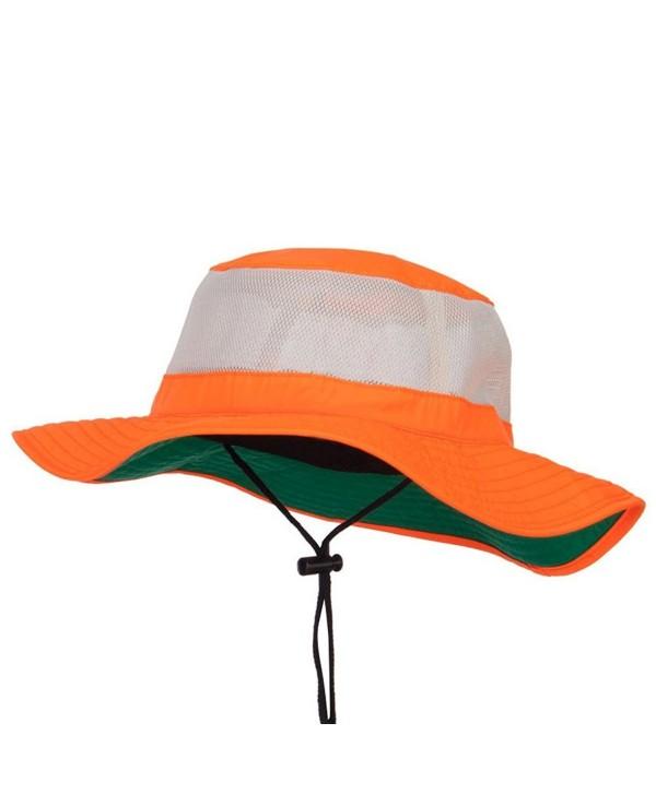 Big Size Safety Boonie Hat (For Big Head) - Neon Orange - CX12CDMTOX3