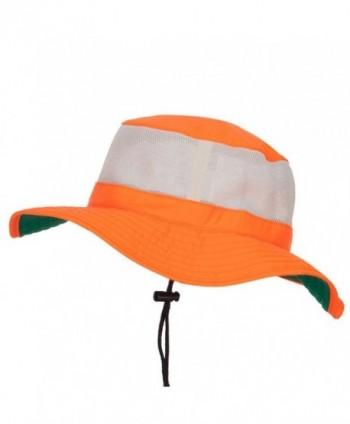 E4hats Safety boonie XL 2XL Orange